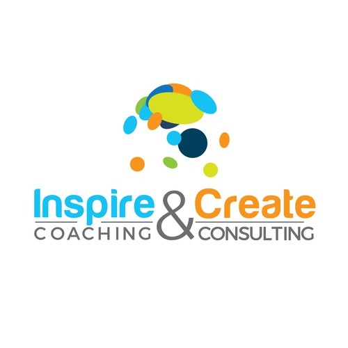 Inspirational logo for coaching company