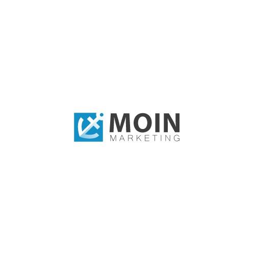 Logo concept Marketing Agency