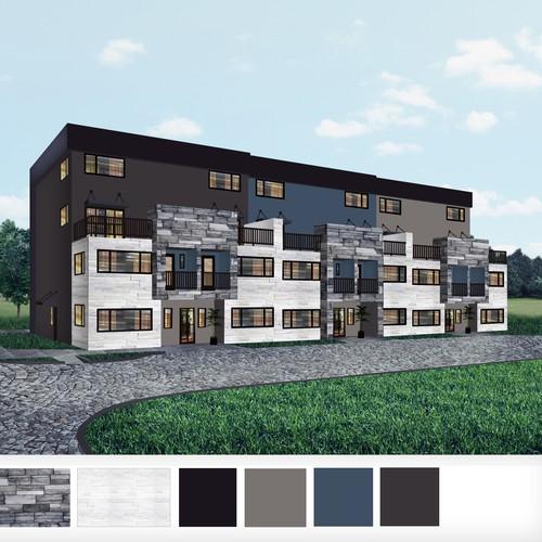 Townhouse building design