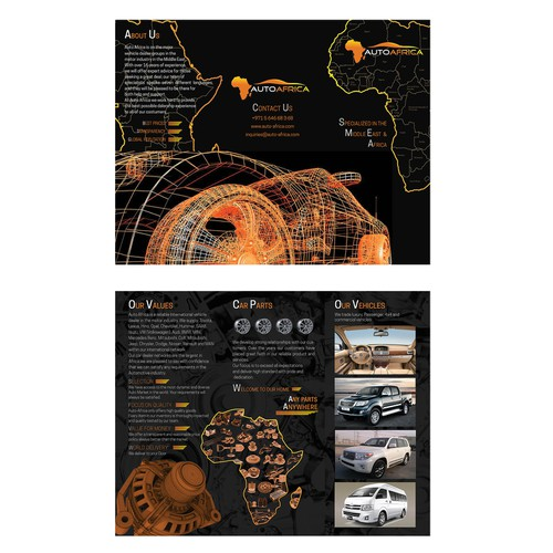 Leaflet for AutoAfrica