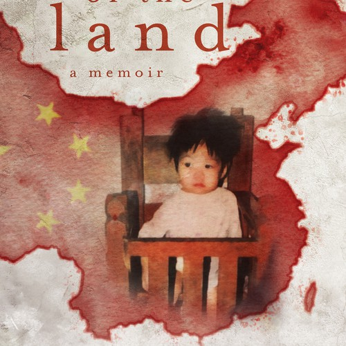 Create a Captivating Book Cover for a memoir - Child of The Land