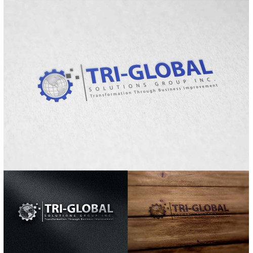 Professional yet Fun/Modern Logo for IT & Business ManagementConsulting Firm