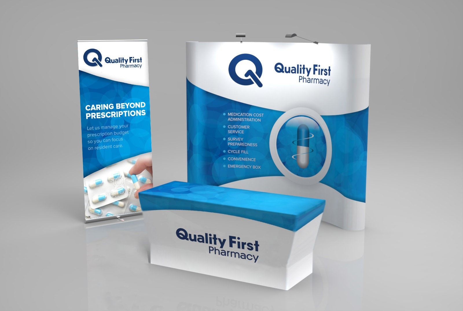 Trade Show Booth Design for Pharmaceutical Company