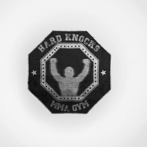 Create the next logo for Hard knocks MMA gym