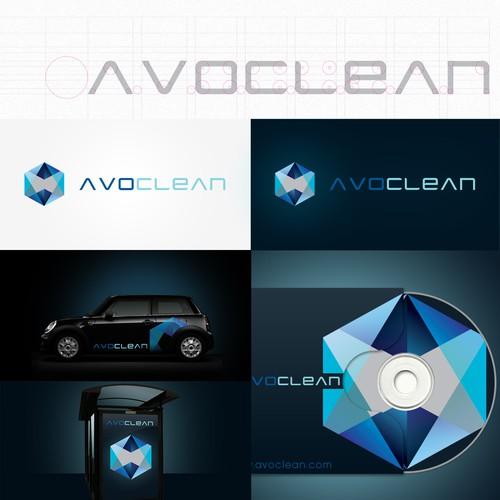 AvoClean brand identity