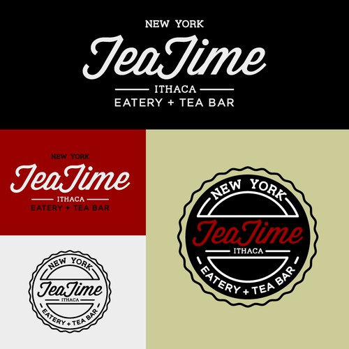 Logo concept for tea bar