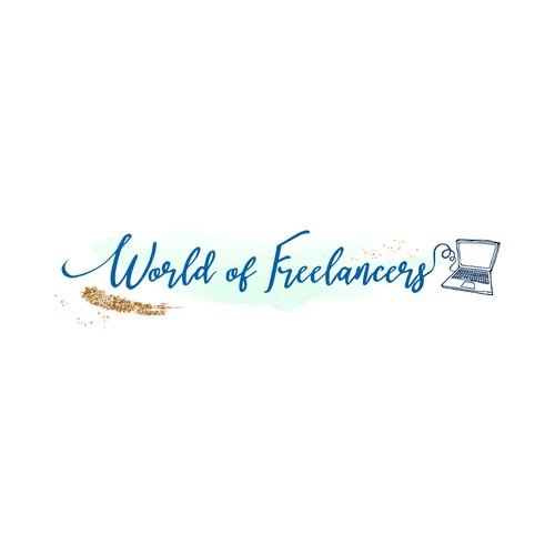 World of freelancers new logo