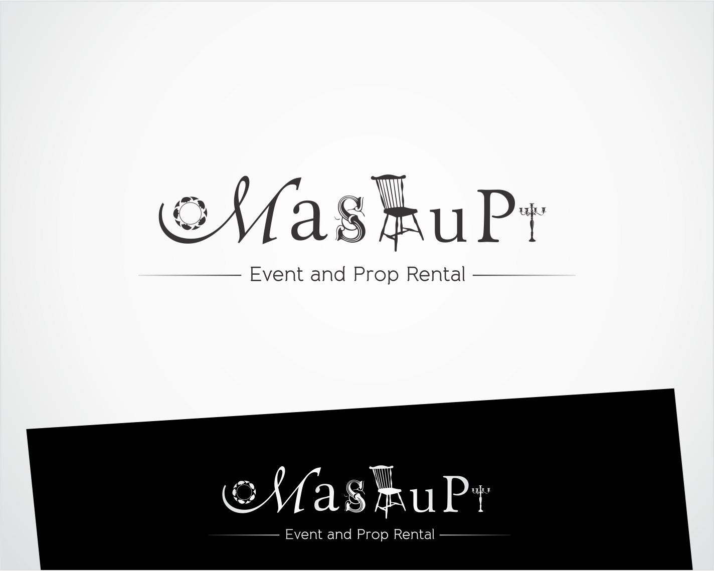 Mashup Event and Prop Rental needs a cool logo!