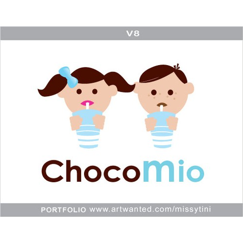 Modern Logo for Chocolate Company