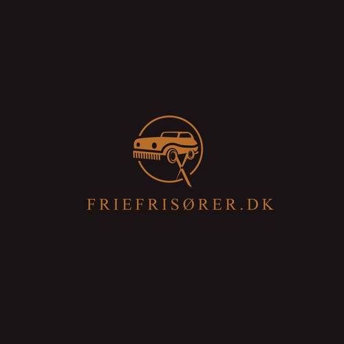 Bold logo for hairdresses who drive clients