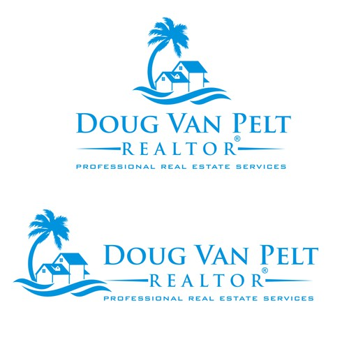 simple and clean logo for Real Estate & Mortgage company
