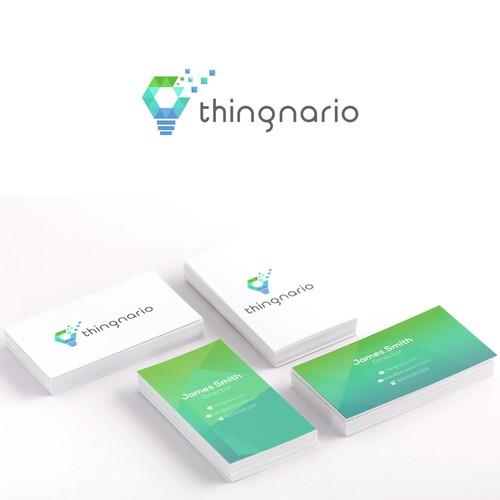 Cool logo thingnario software consultancy company