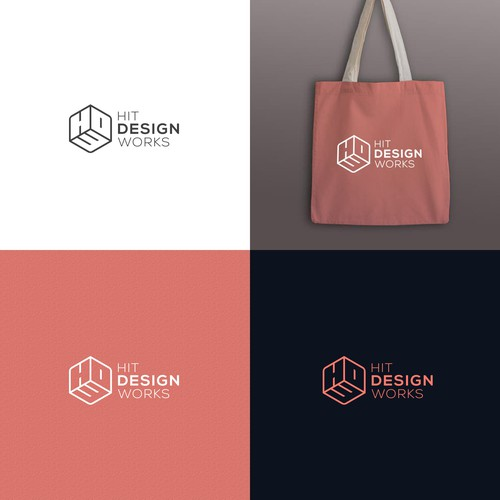 Minimalist Logo Design for Interior Artist