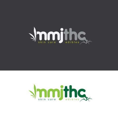 Simplistic Logo Concept for Medical Marijuana Dispisary