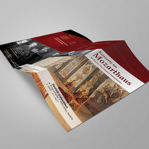 Brochure concept for Concert House