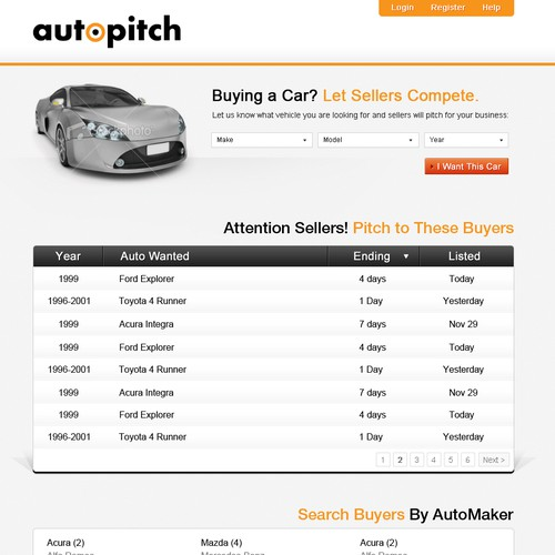 Need Automotive Website