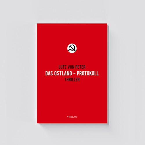 Clean Red Book Cover Design