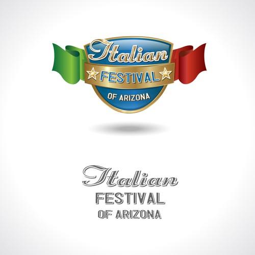Create a logo for an Itallian festival in Arizona