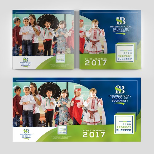 School Yearbook for International School of Bucharest