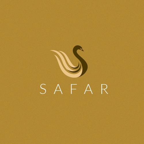 Safar ladies bags logo