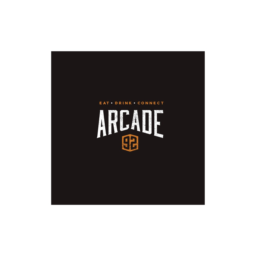 Arcade92 in historic downtown needs a hipster/retro/vintage logo