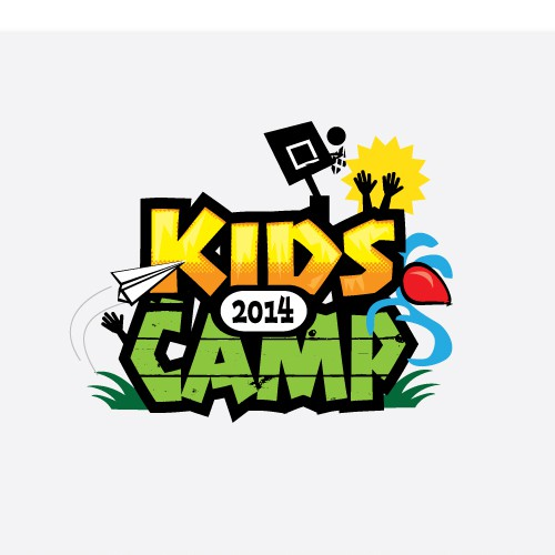 Create a winning logo for KIDS' CAMP 2014