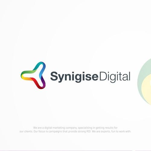 Logo for synigise digital