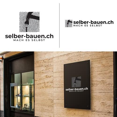 logo concept forselber-bauen.ch