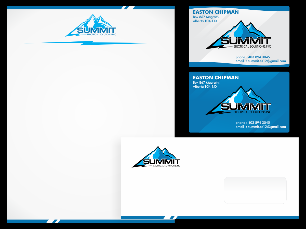 Create the next logo for Summit Electrical Solutions