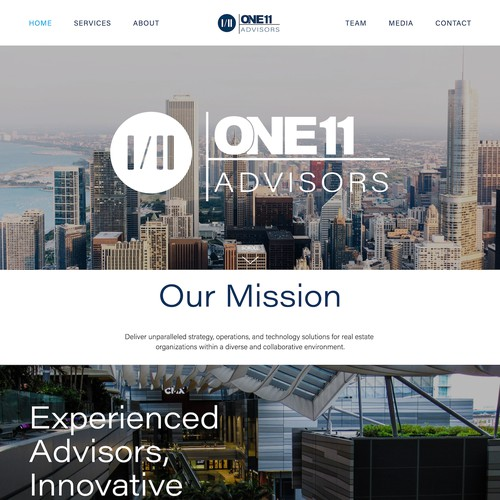 One11 Adivsor's Real Estate Consulting Firm Design