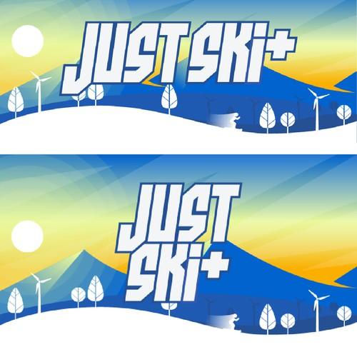 Just Ski+ Thumbnail Design