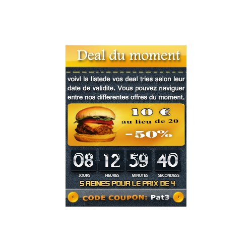 Banner Ad : Deal Template