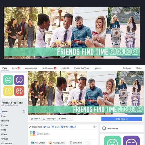 Friends Find Time Logo