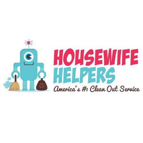 Housewife Helpers needs a new logo and business card