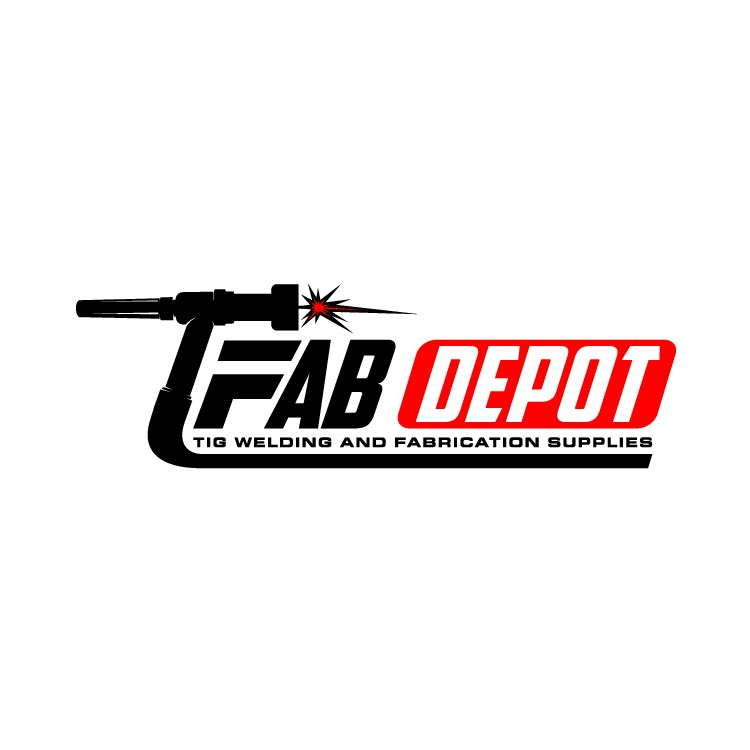 Powerful logo for welding fabrication supply store