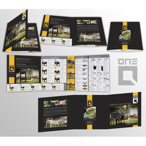 Brochure design for oneQ Deutschland
