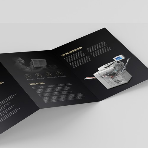 Luxurious 6pp Dutch language brochure