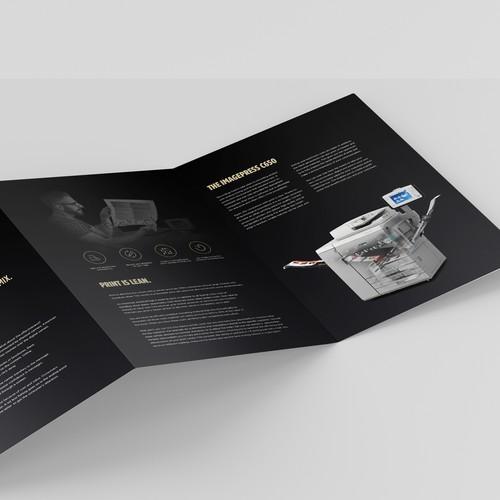 Luxurious 6pp Dutch language brochure