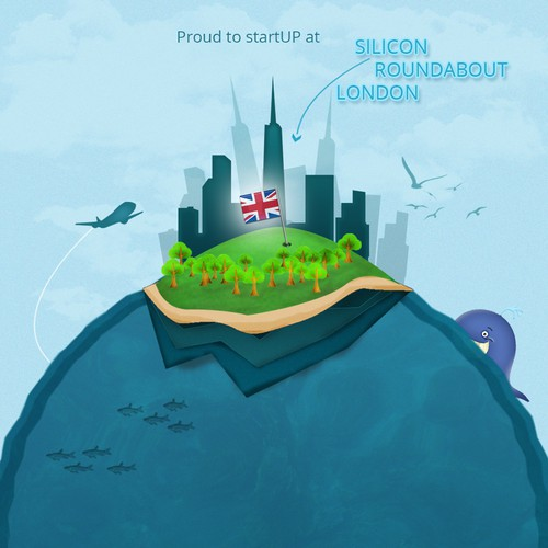 99designs Community Contest: Design an image for Silicon Roundabout, Tech City