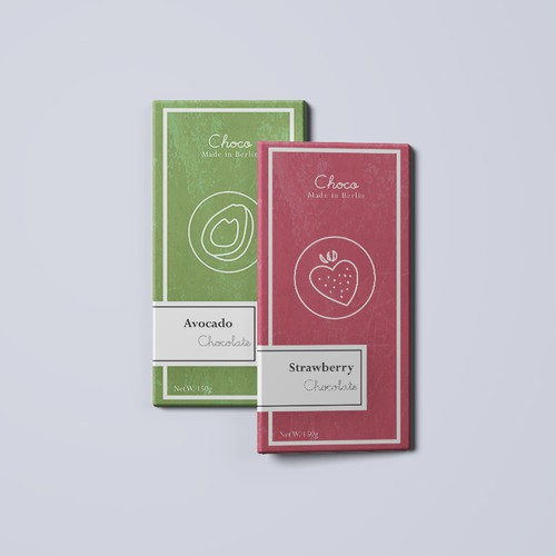 package design - chocolate bar