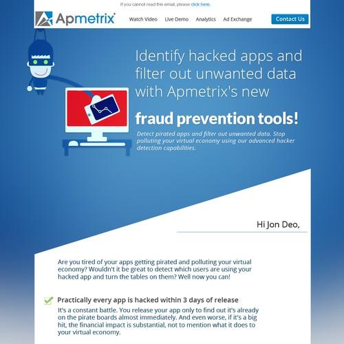 Apmetrix Email for New Feature - Detect Fraudulent App Downloads