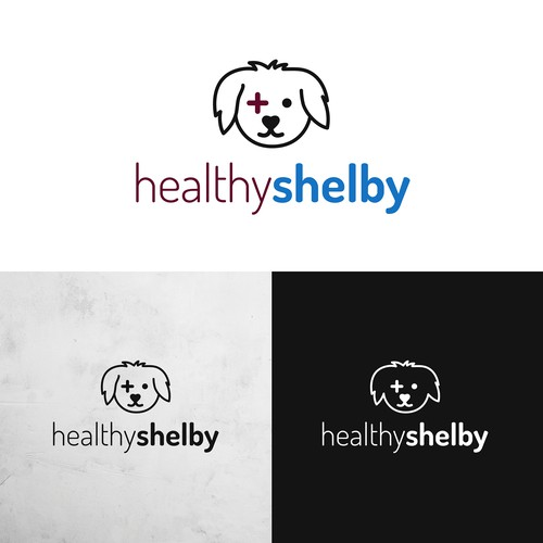 Logo for Healthy Shelby pet products