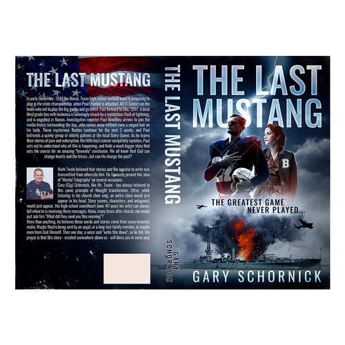The Last Mustang Book Cover Design