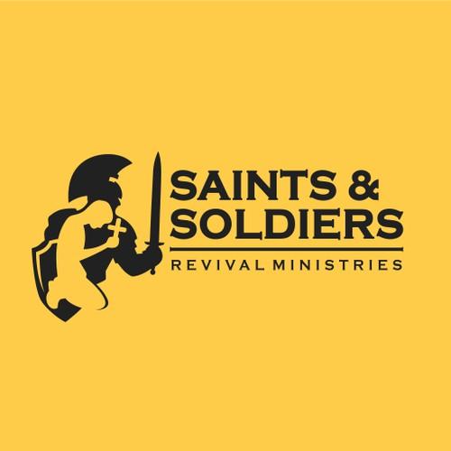 Logo Concept Saints and Soldiers