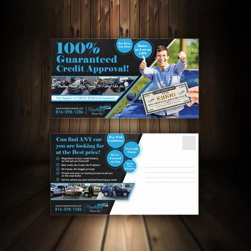 Car Dealership needs a Powerful Sale Flyer