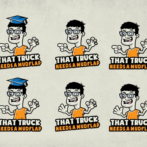 Create the facebook mascot for That Truck Needs A Mudflap