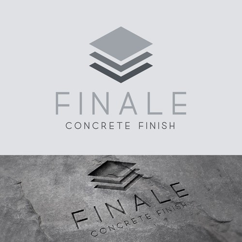 Finale DIY concrete countertop finish logo