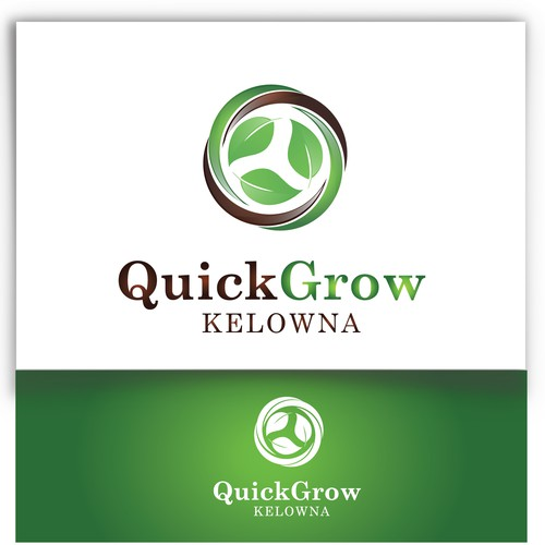 Quick Grow Kelowna needs a new logo