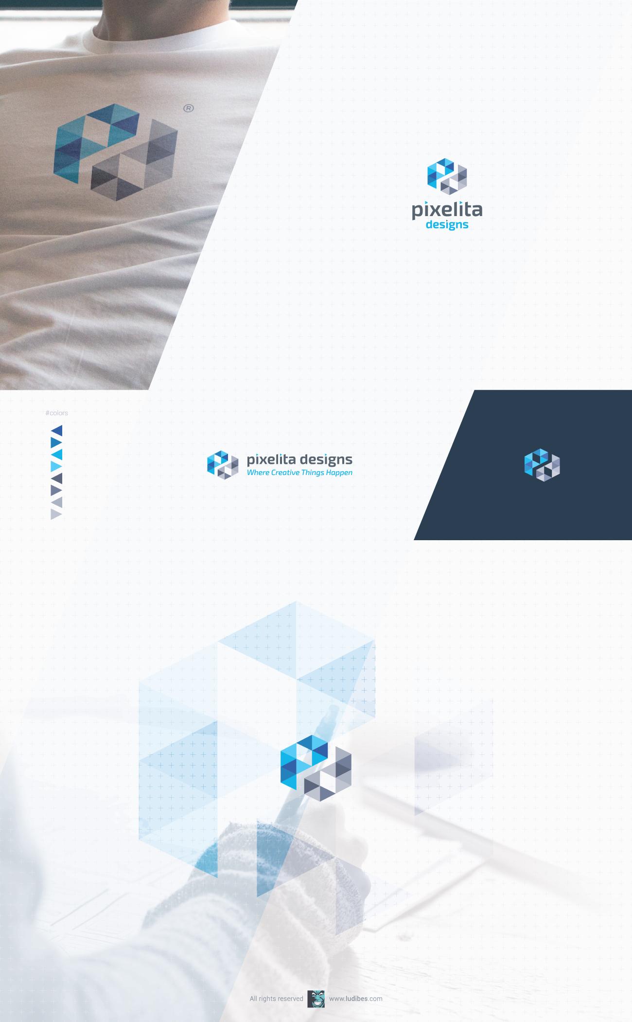 Logo for existing web design studio
