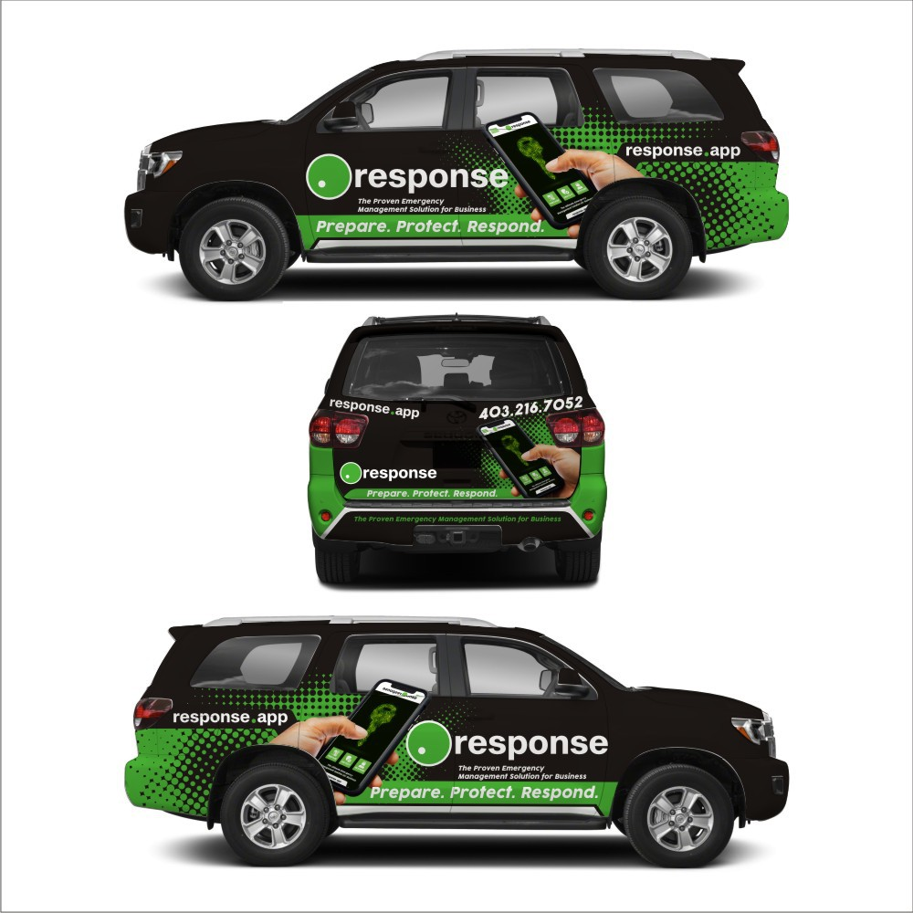 Vehicle Wrap for Rebrand